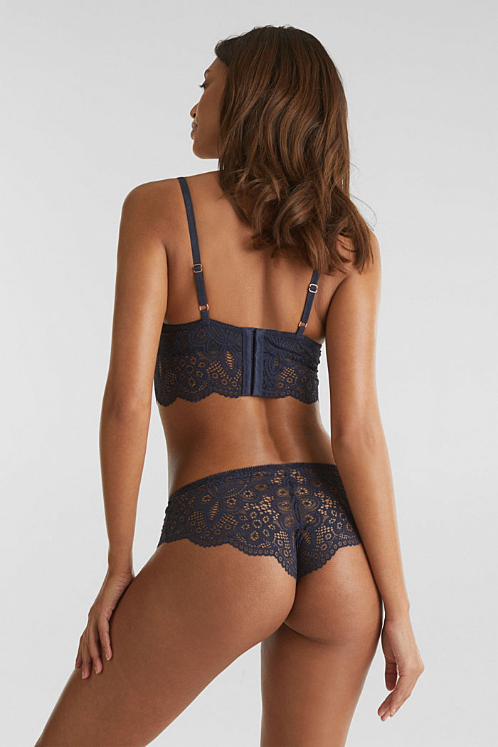 Hipster briefs in lace, NAVY, detail image number 3