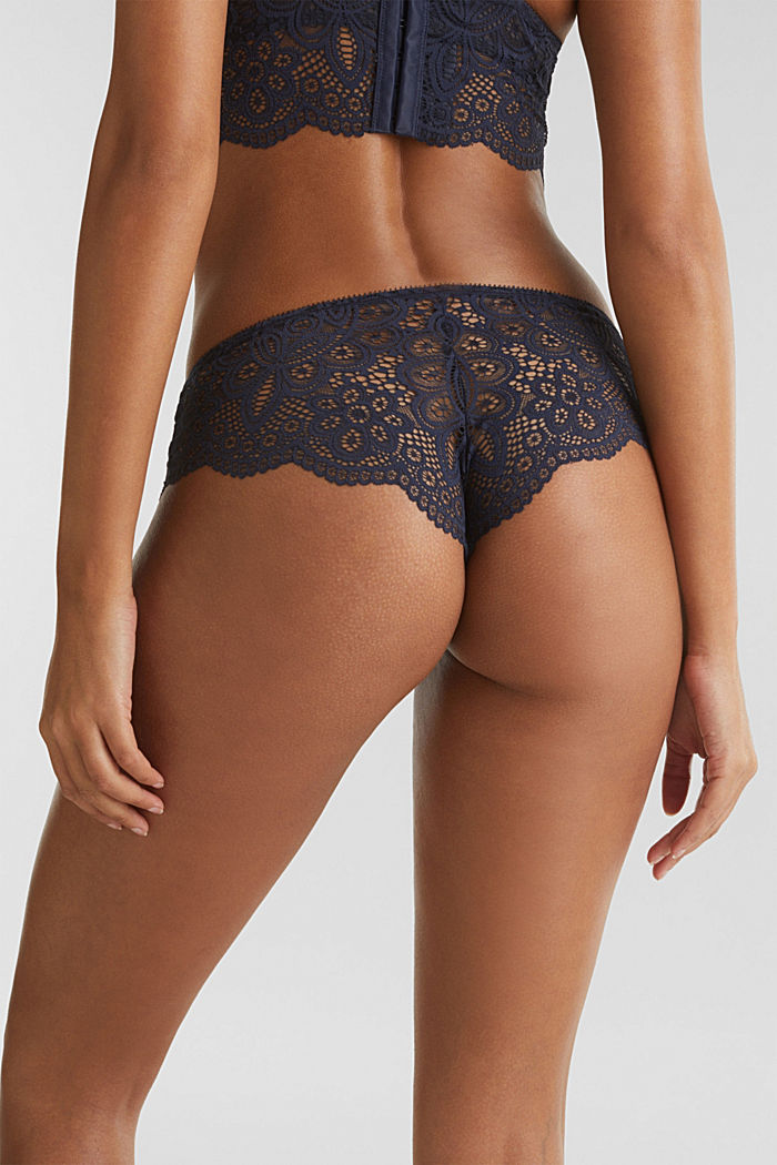 Hipster briefs in lace, NAVY, detail image number 4