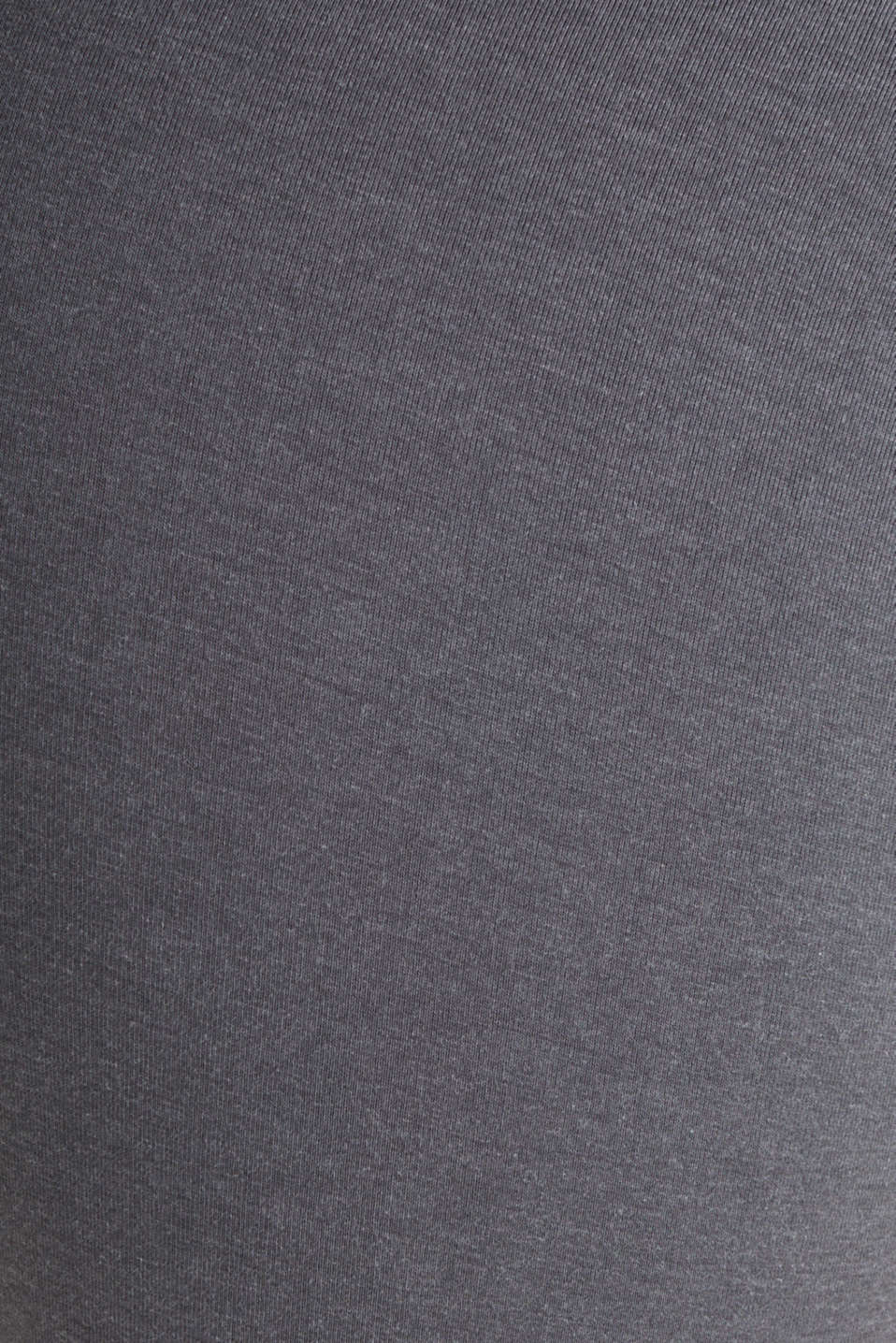 Stretch jersey trousers with a logo print, DARK GREY 2, detail image number 2