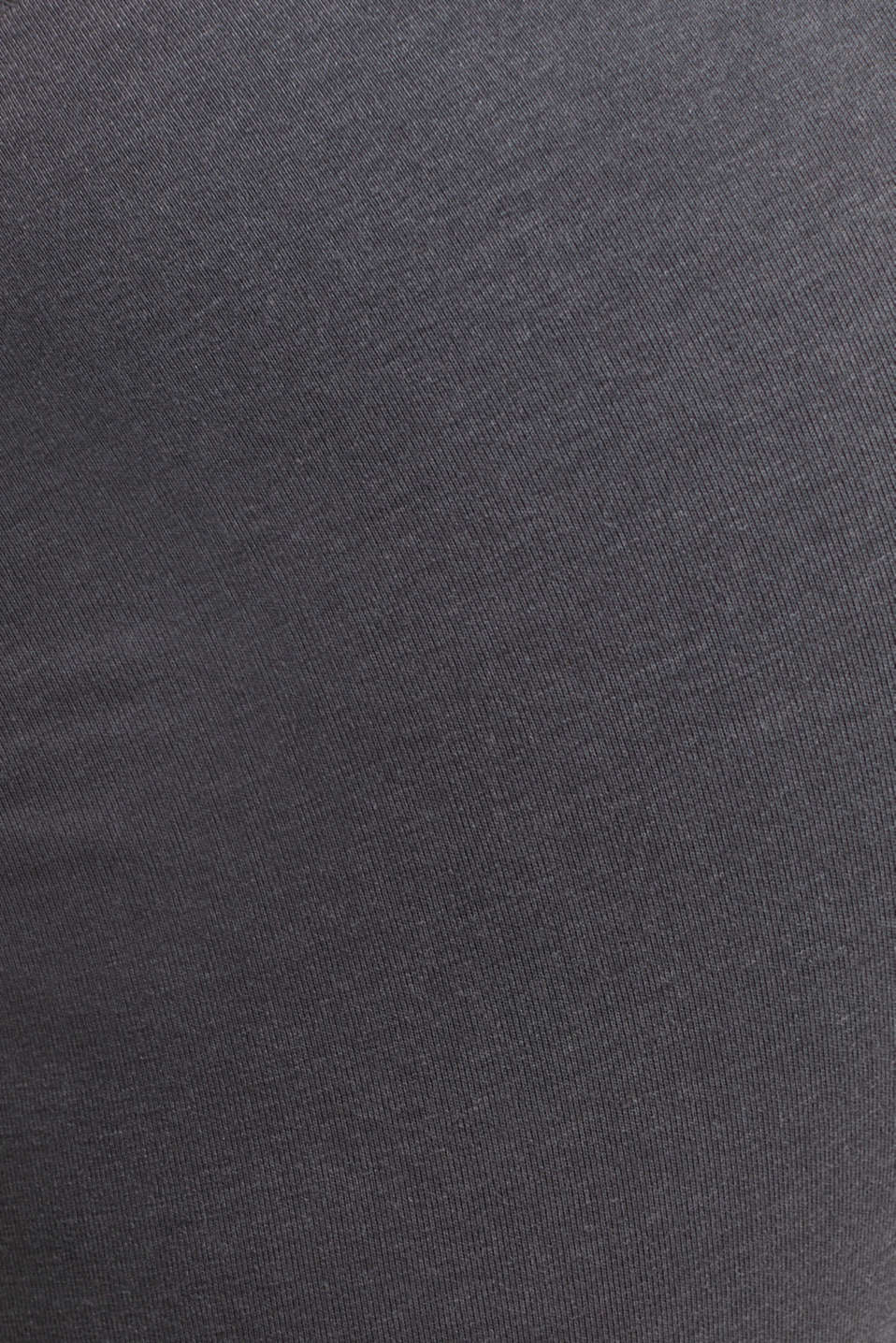 Cropped leggings with a shiny print, DARK GREY 2, detail image number 3