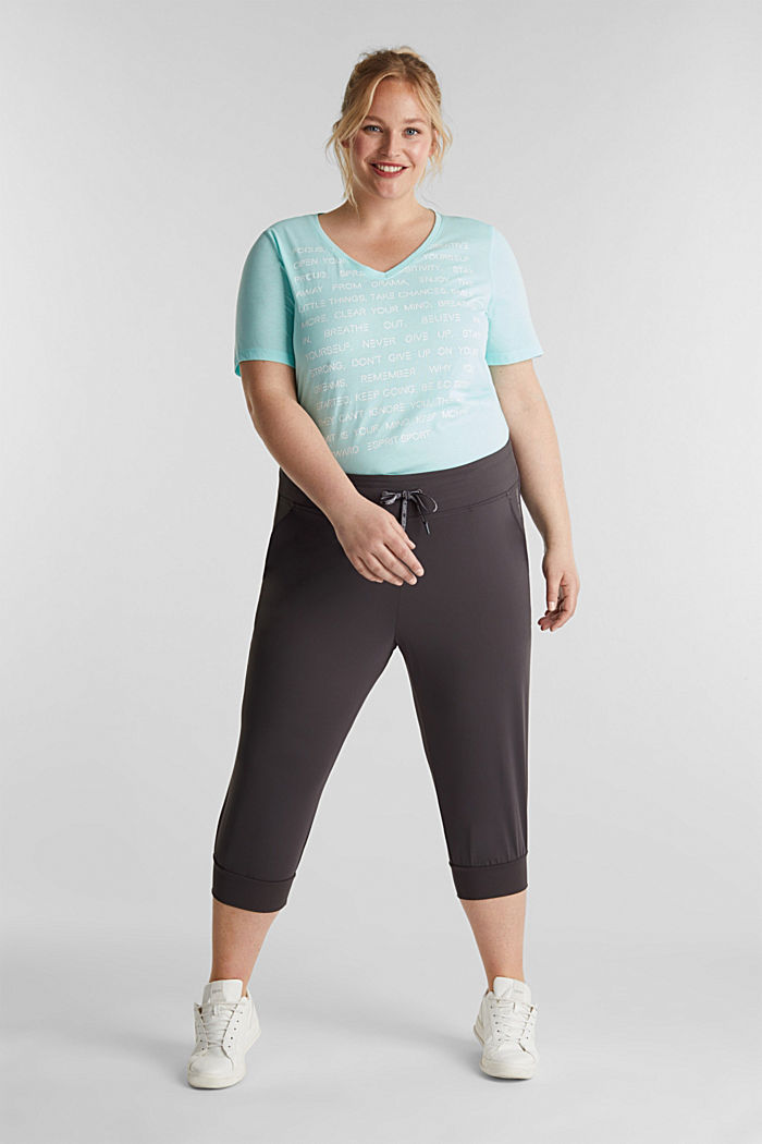 CURVY ankle-length leggings, E-DRY