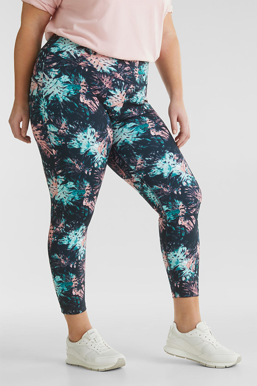 CURVY Ankellange leggings, E-DRY
