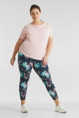 CURVY ankle-length leggings, E-DRY, ANTHRACITE 3, detail