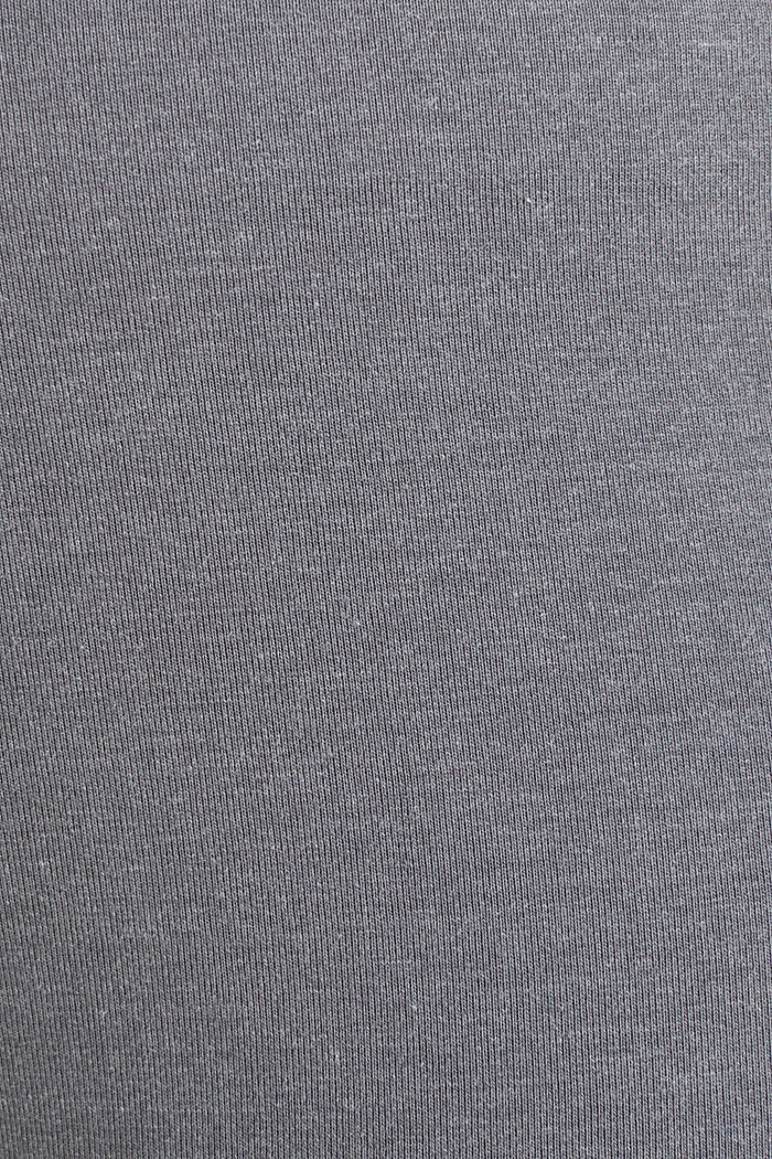 CURVY leggings with shiny statements, DARK GREY, detail image number 4