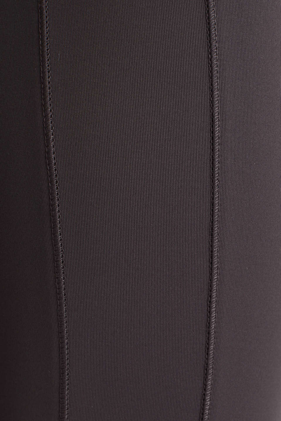 E-DRY leggings with mesh details, ANTHRACITE, detail image number 4