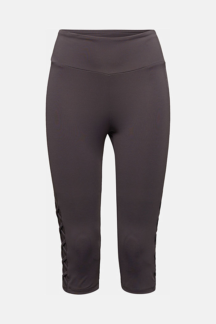E-DRY leggings with mesh details