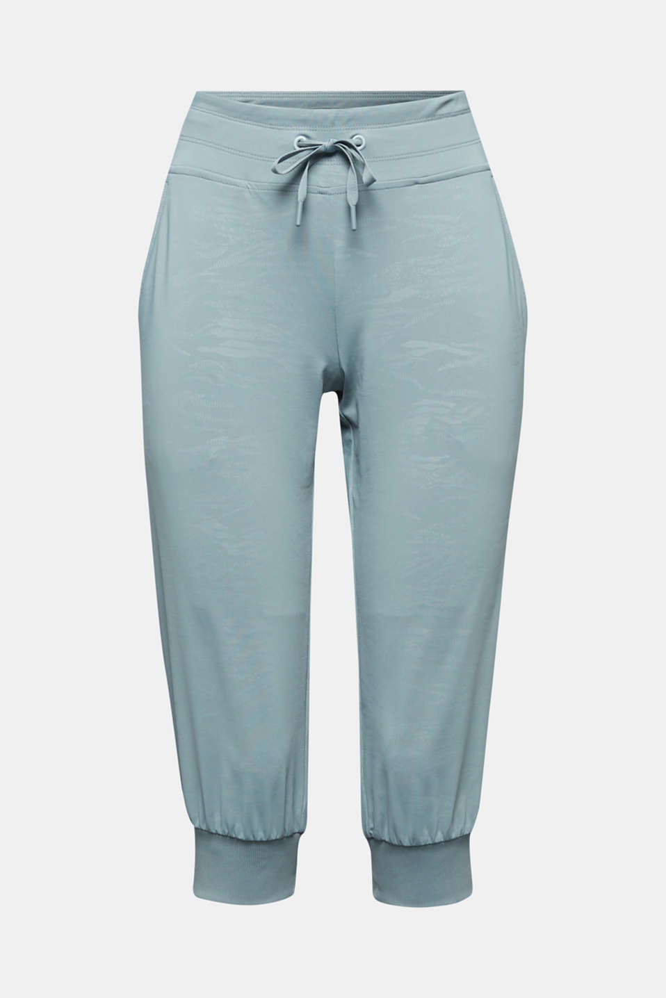 E-DRY jersey trousers with a print, DUSTY GREEN 3, detail image number 5