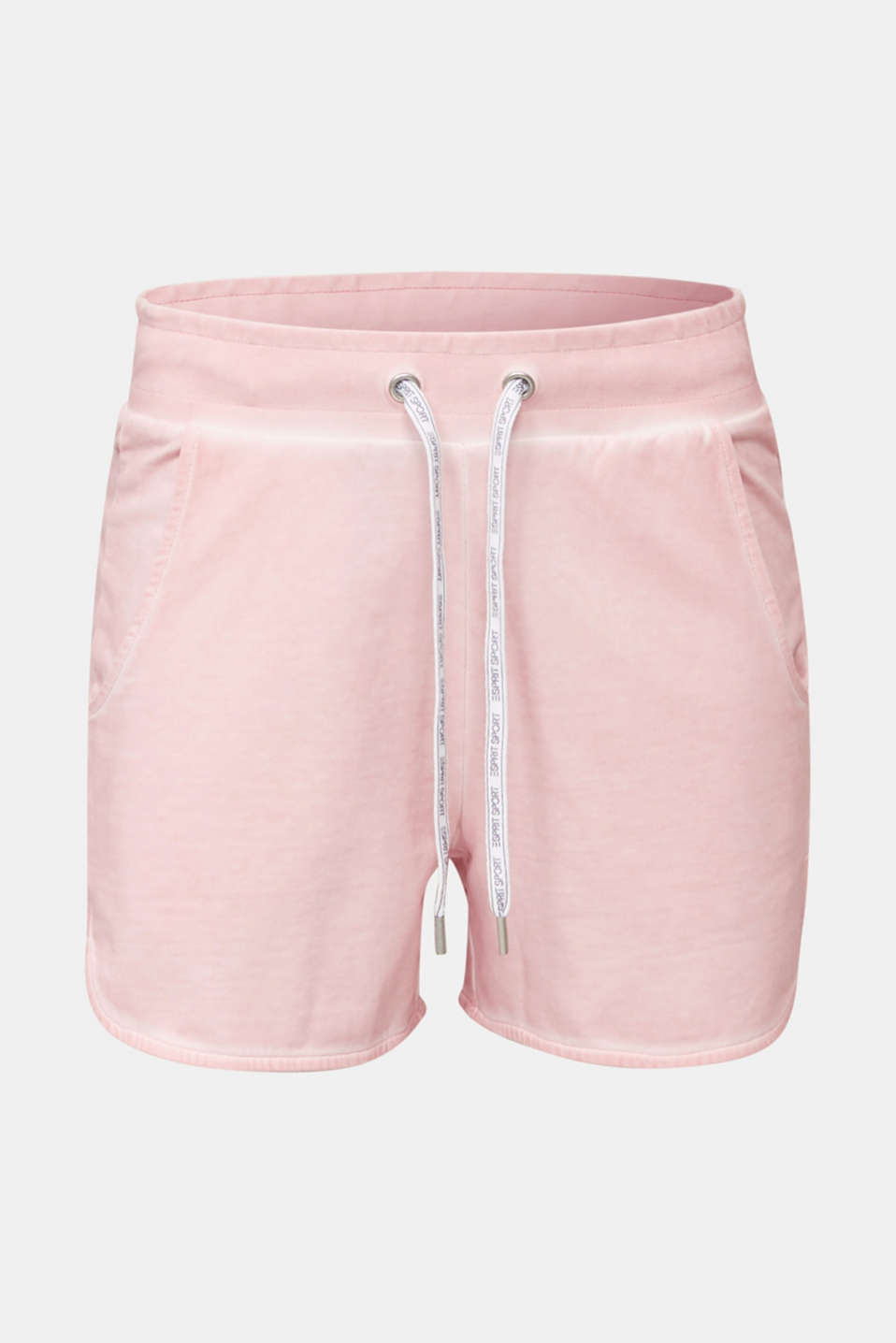 Stretch jersey shorts in a vintage look, LIGHT PINK, detail image number 6