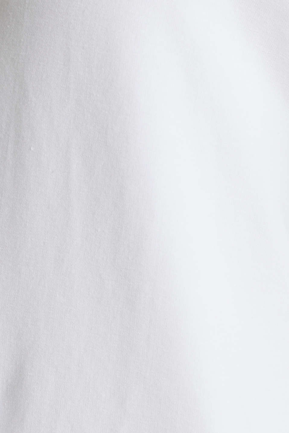 Stretch short-sleeved hoodie, WHITE, detail image number 2