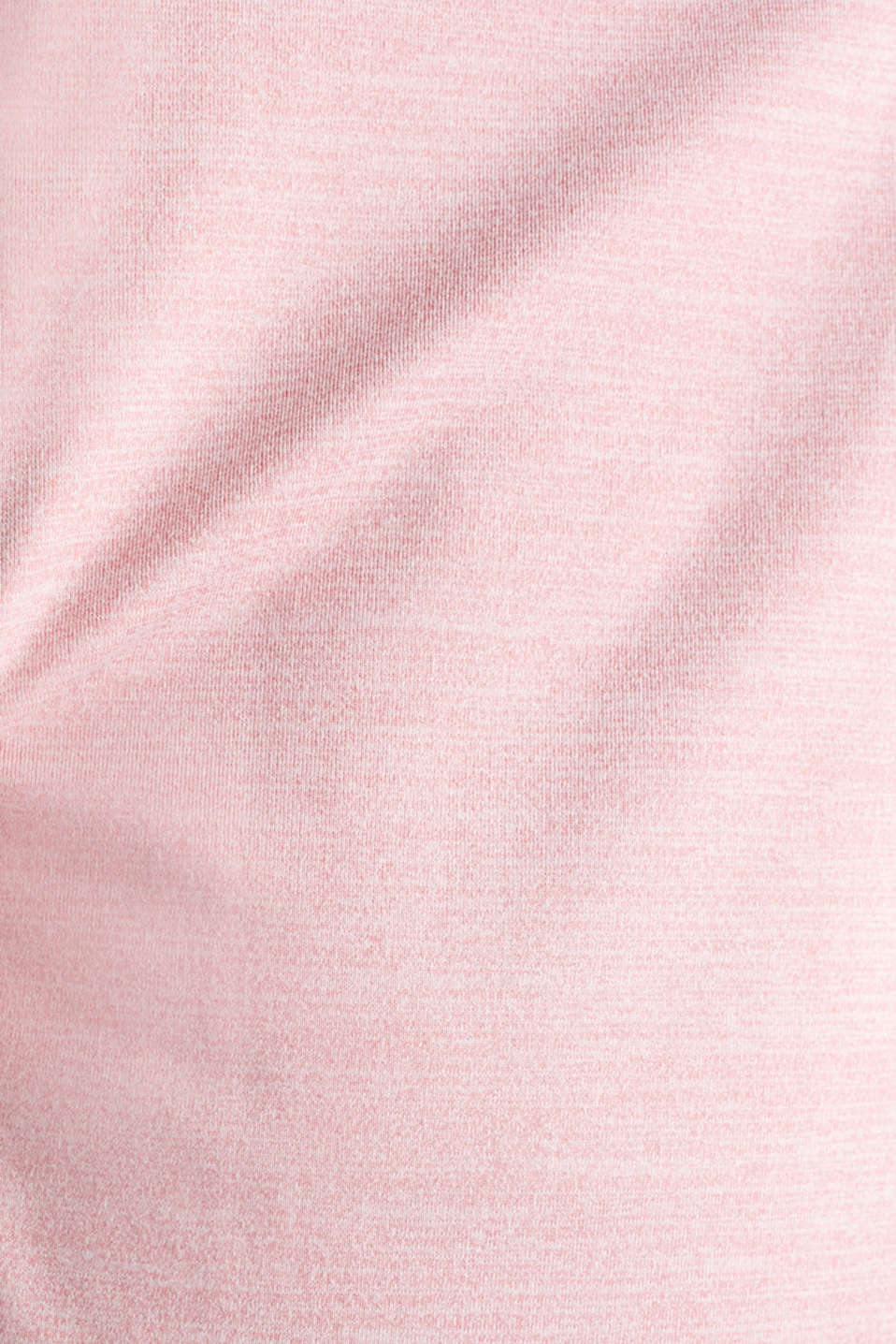 Active E-DRY top with mesh details, OLD PINK 2, detail image number 4