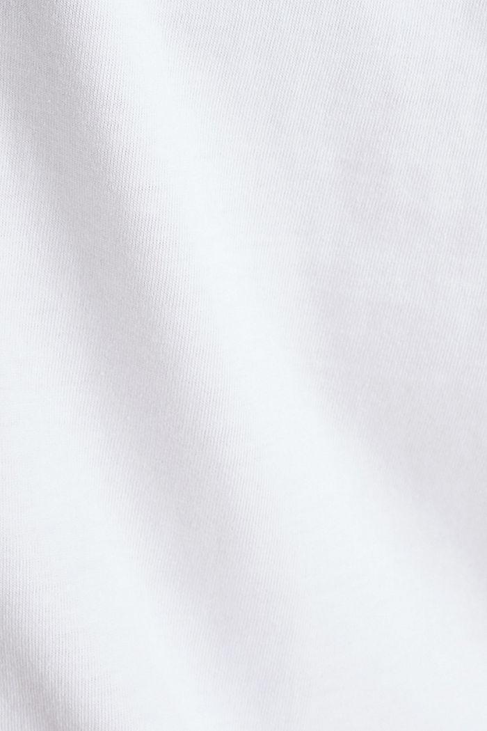 Printtipaita 100 % luomupuuvillaa, WHITE, detail image number 2