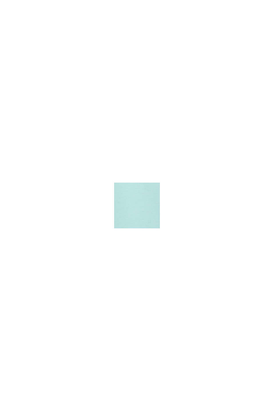 CURVY Maglia con stampa di scritta, TURQUOISE, swatch