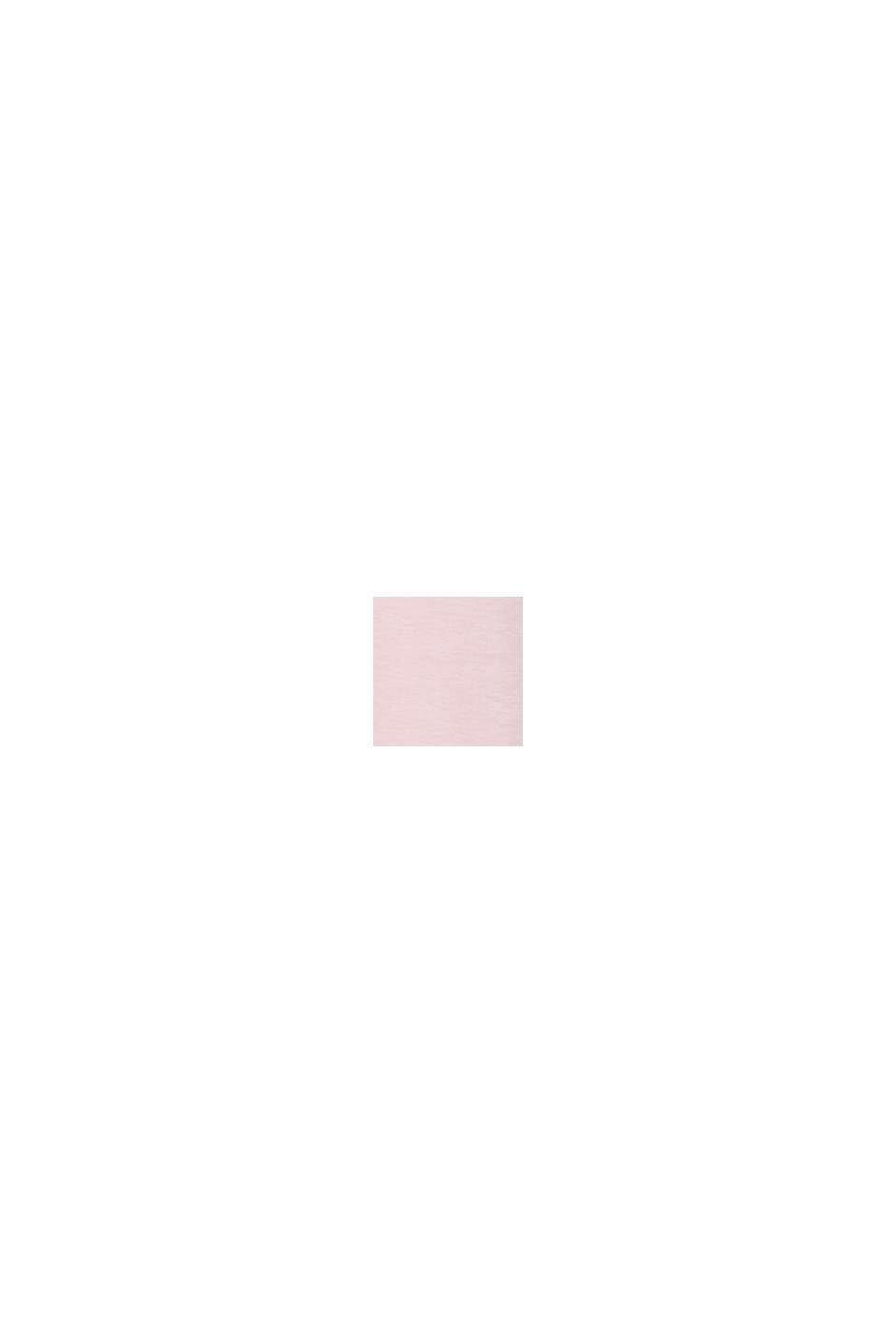CURVY Maglia con stampa di scritta, LIGHT PINK, swatch