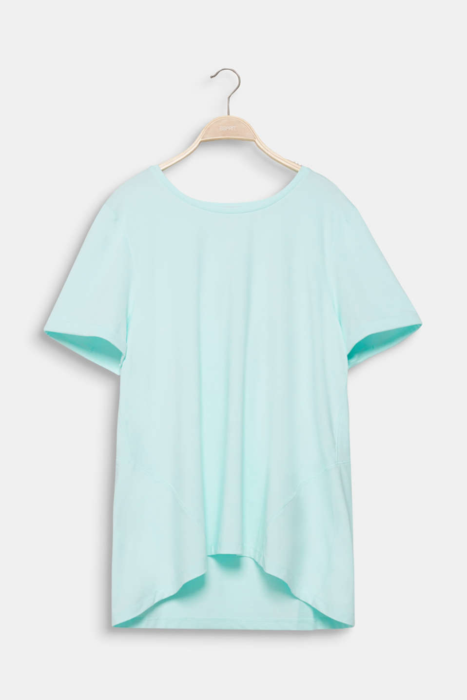 Curvy melange E-DRY top, TURQUOISE 2, detail image number 5