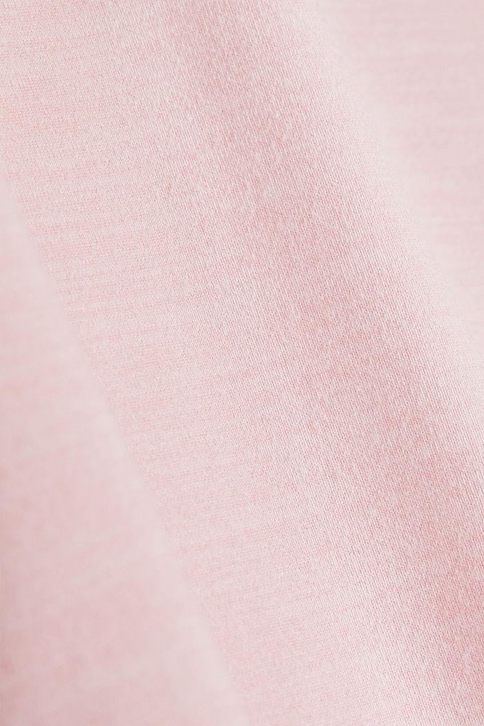 Curvy melange E-DRY top, LIGHT PINK, detail image number 3