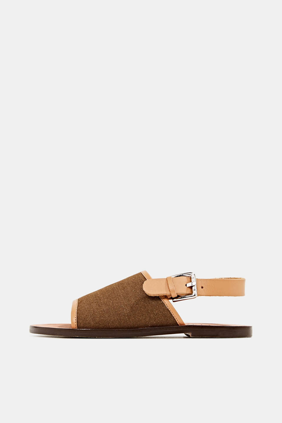 EarthColors® canvas sandals, SKIN BEIGE, detail image number 0