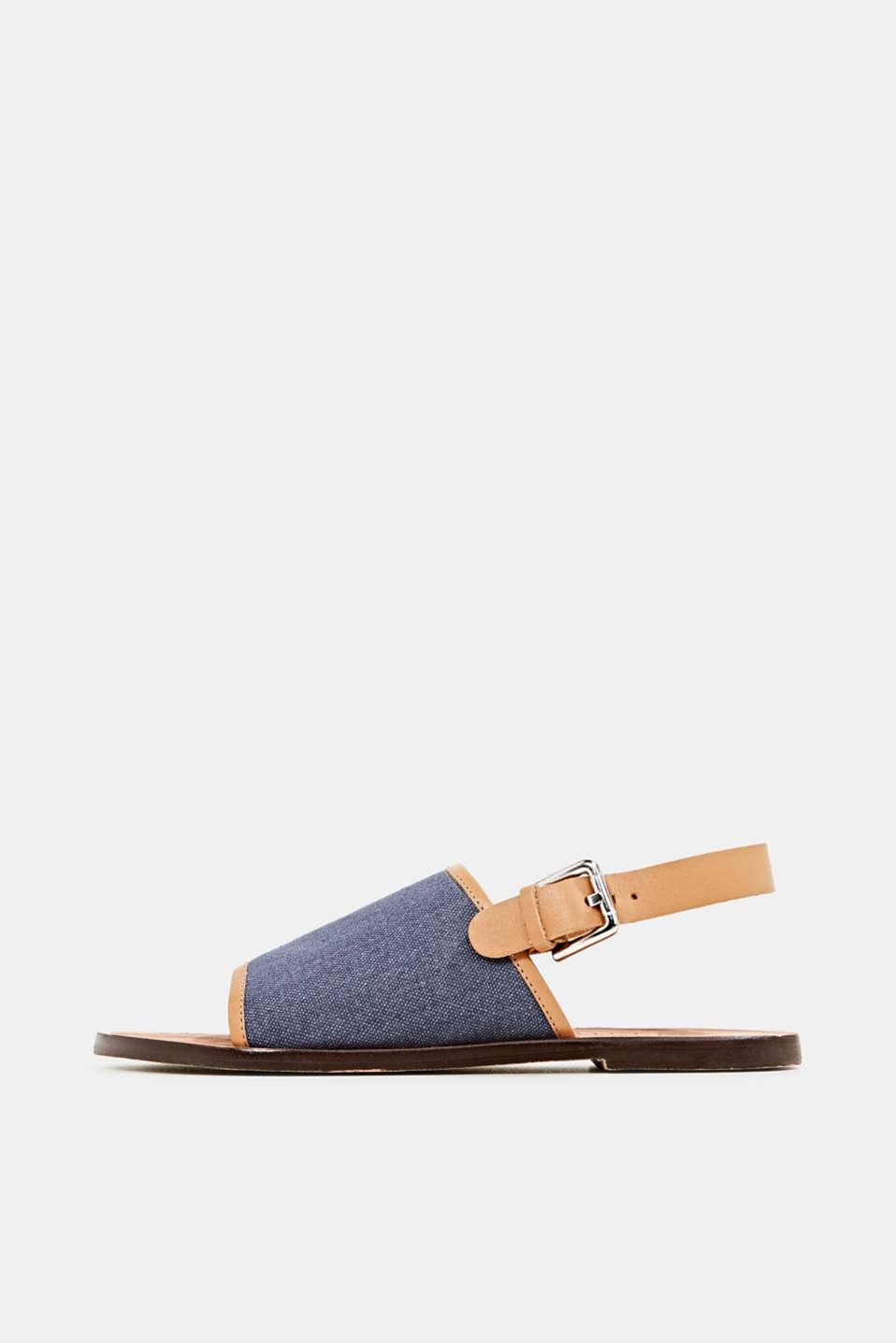 EarthColors® canvas sandals, LIGHT BLUE LAVENDER, detail image number 0