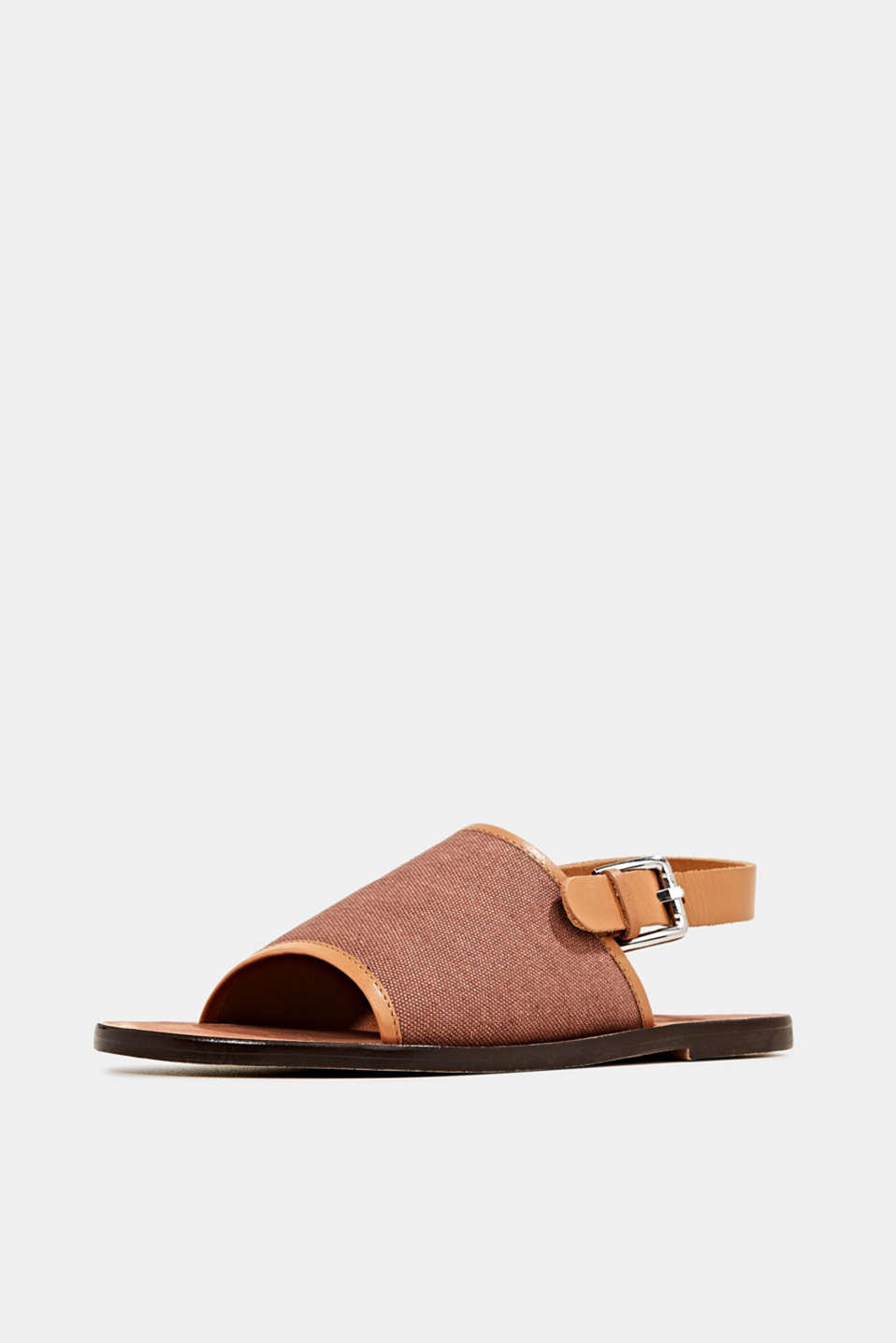 EarthColors® canvas sandals, MAUVE, detail image number 2