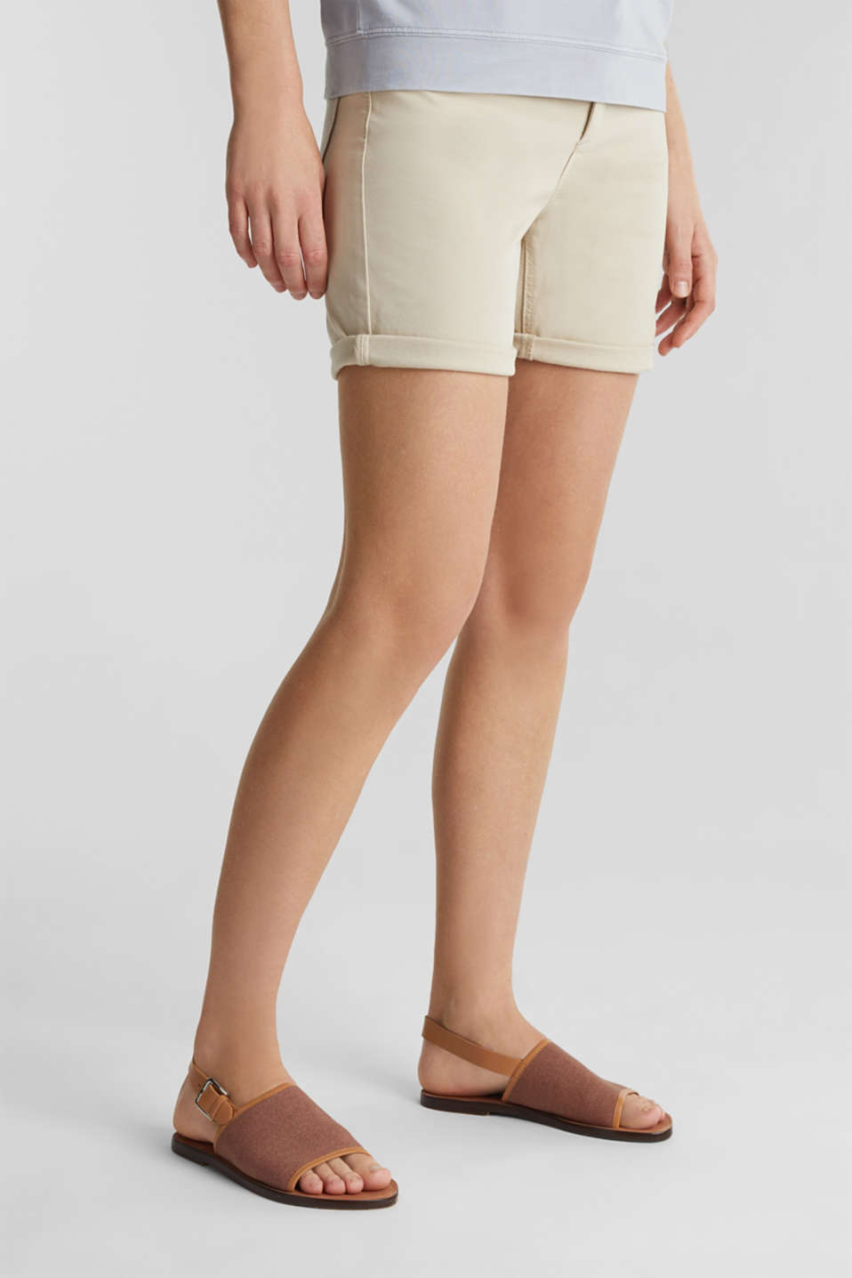 EarthColors® canvas sandals, MAUVE, detail image number 3