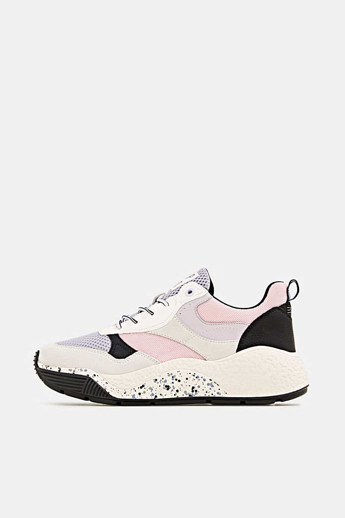 Trend trainers with an oversized sole, LAVENDER, detail image number 0