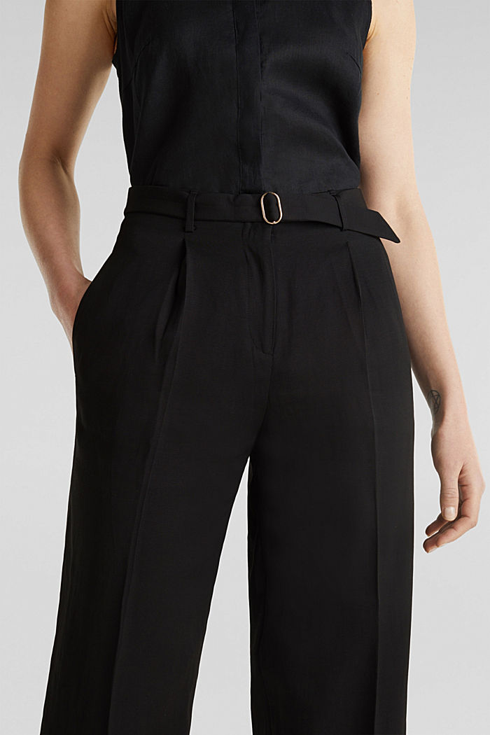 Culottes with a belt