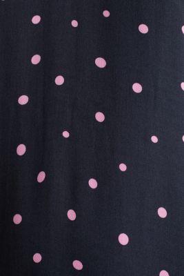Printed dress made of LENZING™ ECOVERO™, BLACK 3, detail