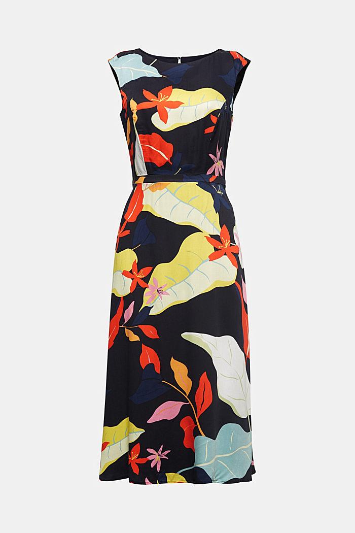 Midi dress with LENZING™ ECOVERO™