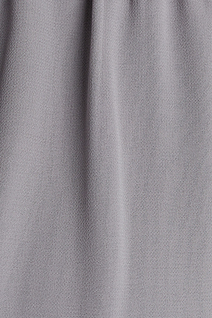 Recycled: maxi chiffon dress, GREY, detail image number 4