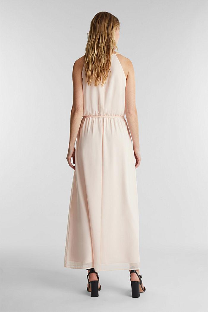 Recycled: maxi chiffon dress, PASTEL PINK, detail image number 2