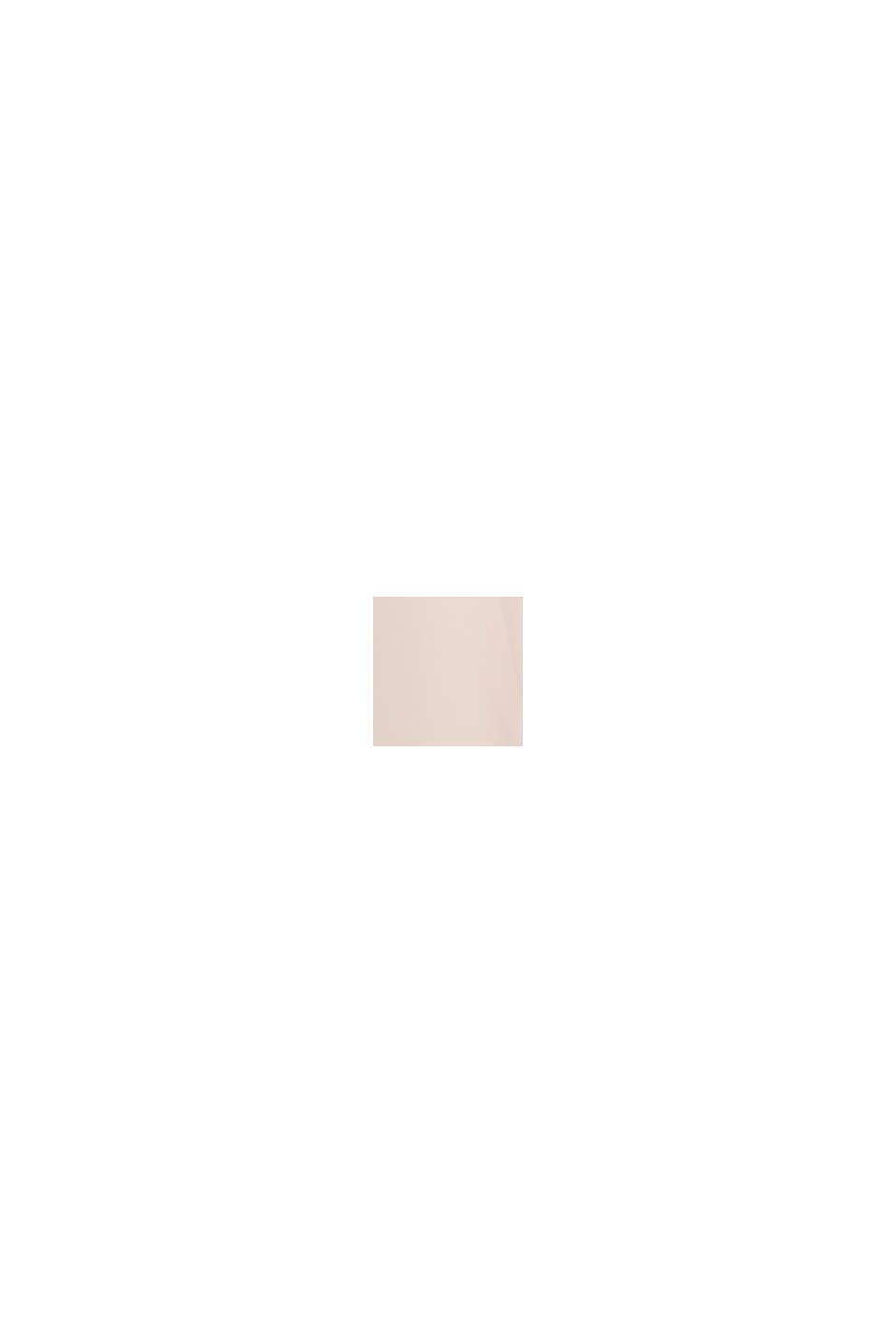 Materiale riciclato: abito maxi in chiffon, PASTEL PINK, swatch