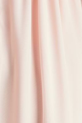 Midi dress made of chiffon and lace, PASTEL PINK, detail