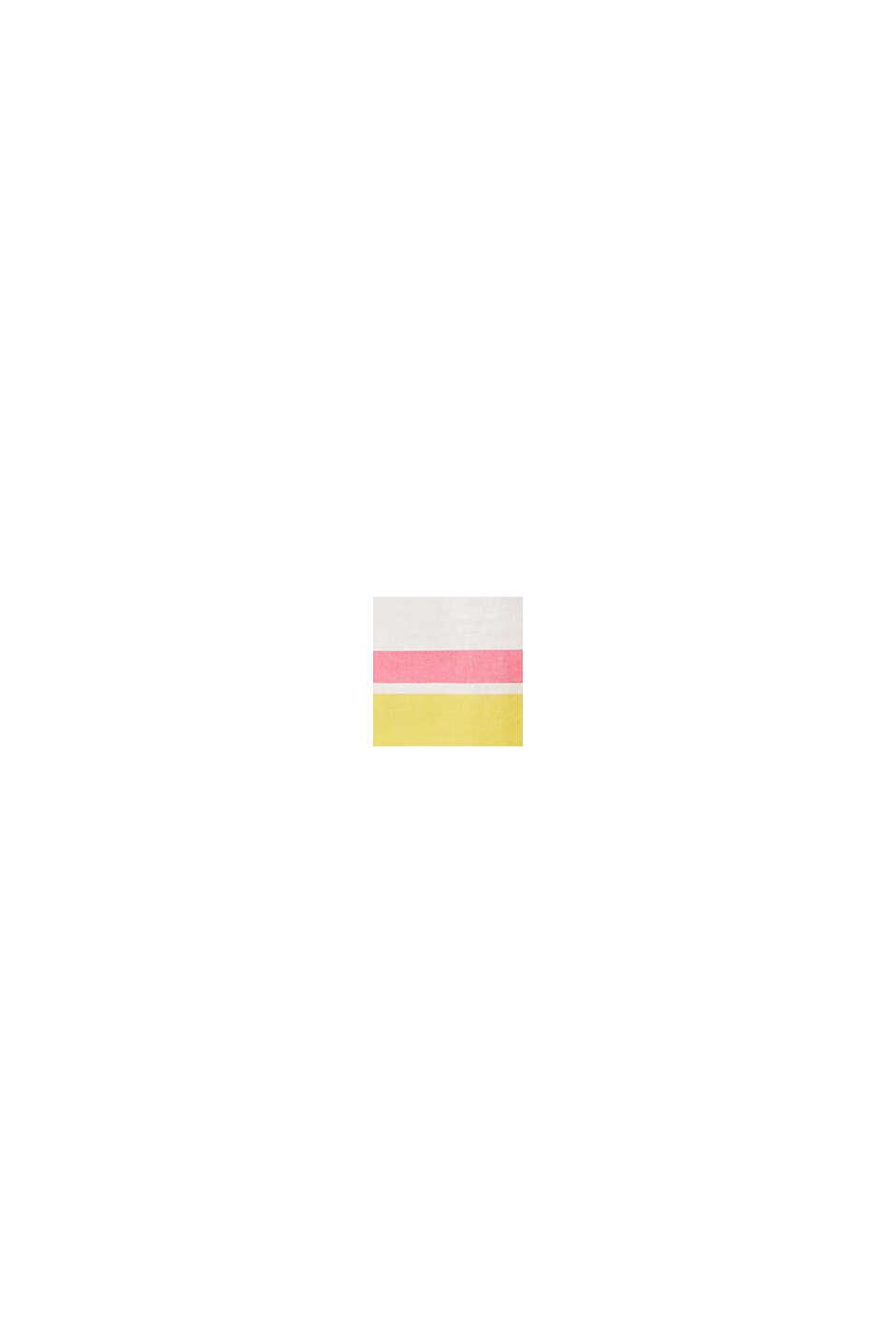 Pellavasekoitetta: värikäs puserotoppi, WHITE, swatch