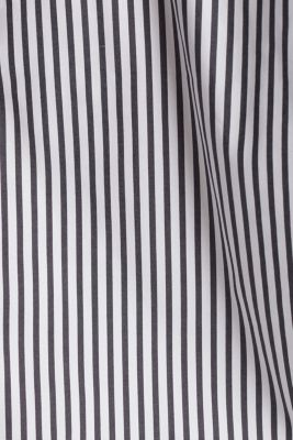 Striped slip-on blouse in a boxy fit, BLACK 2, detail