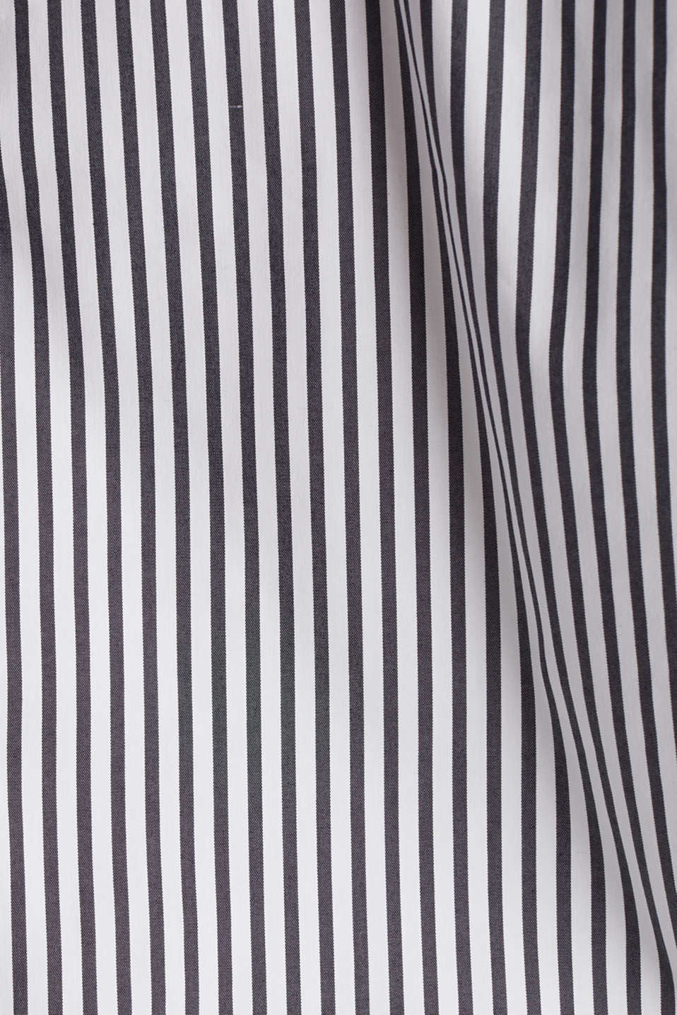 Striped slip-on blouse in a boxy fit, BLACK 2, detail image number 4