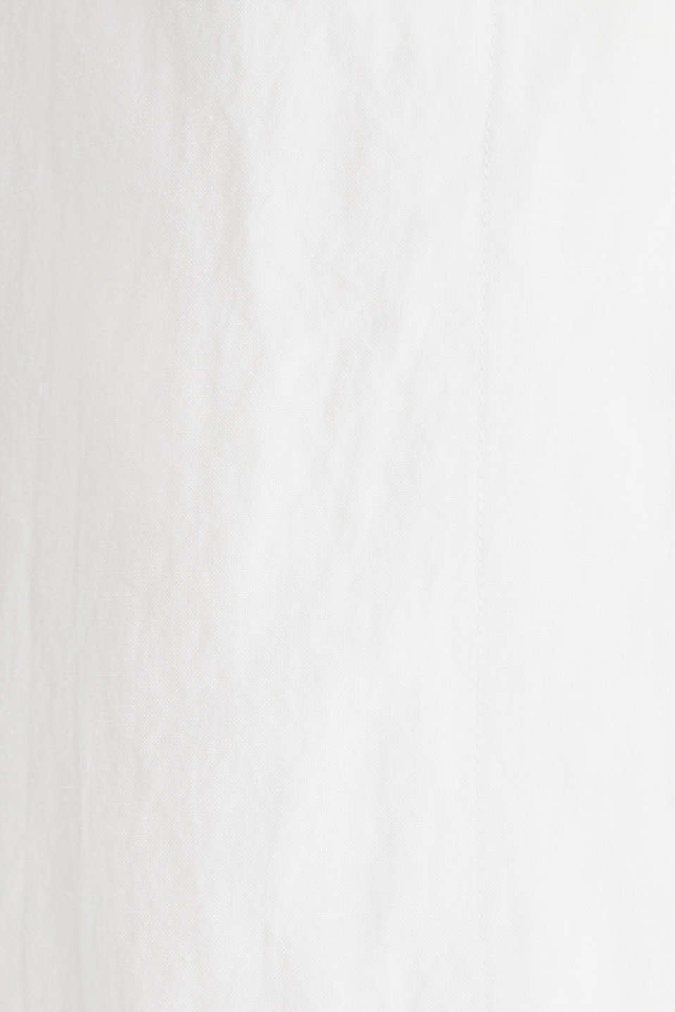 Blended linen: waistcoat with a tie-around belt, OFF WHITE, detail image number 4