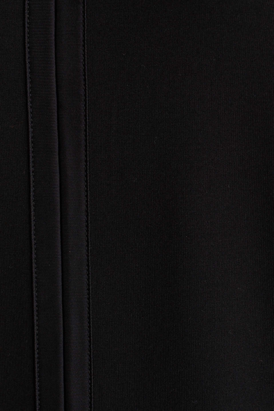Stretchy tank top with satin details, BLACK, detail image number 3
