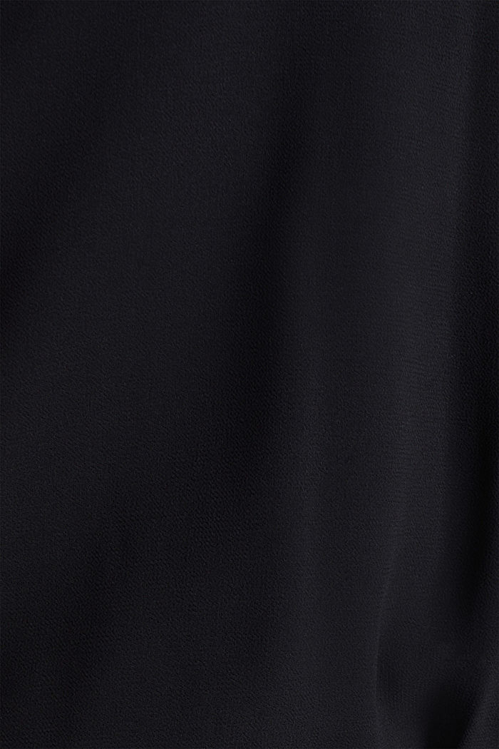 Recycled: chiffon jumpsuit, BLACK, detail image number 4