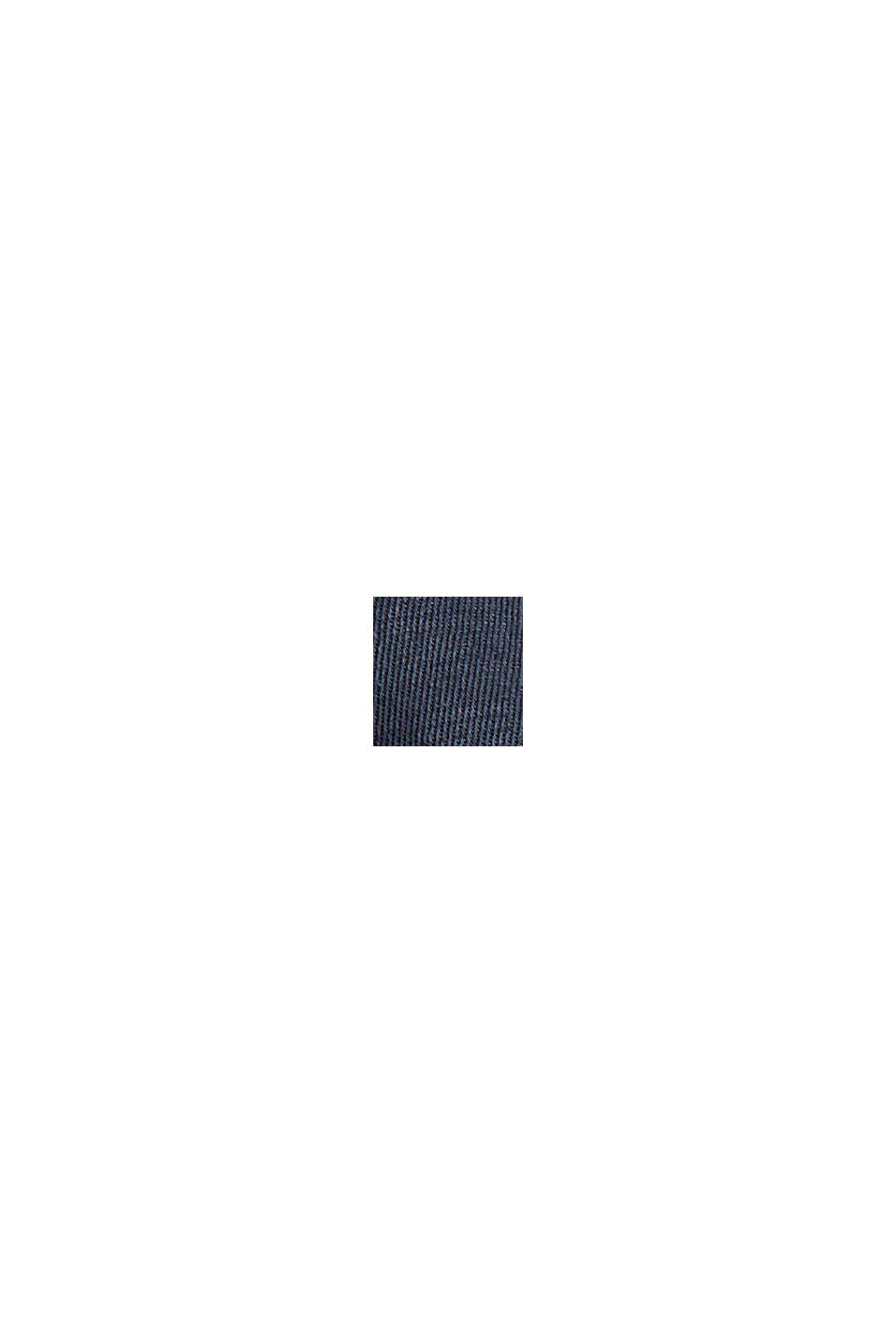 Containing TENCEL™: chinos in a utility look, NAVY, swatch