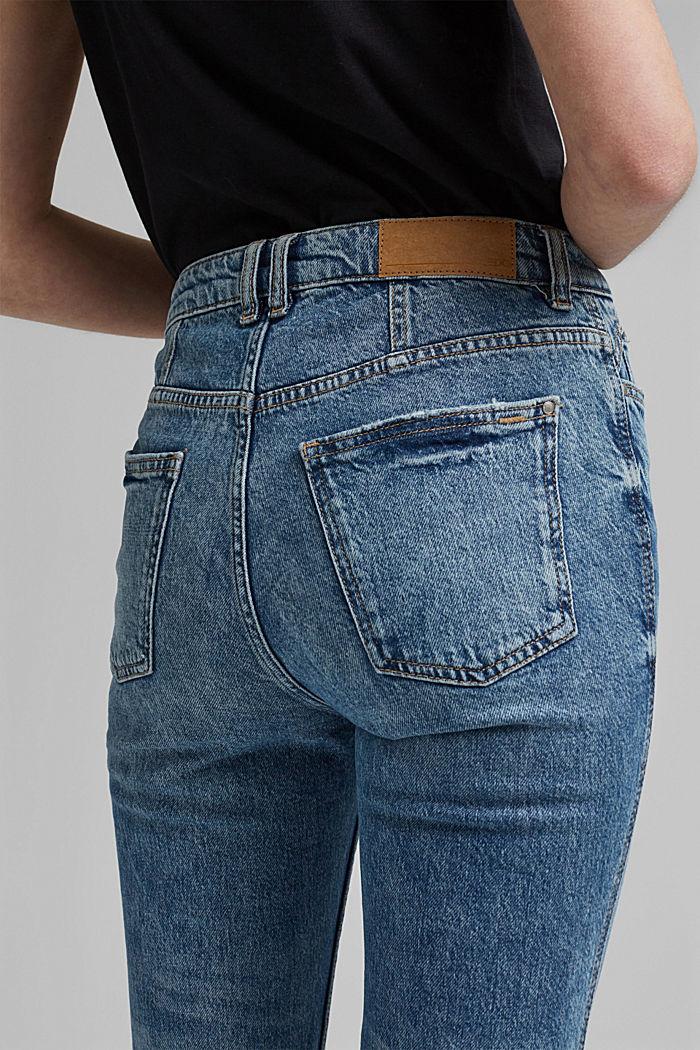 Cropped Jeans aus Organic Cotton, BLUE MEDIUM WASHED, detail image number 2