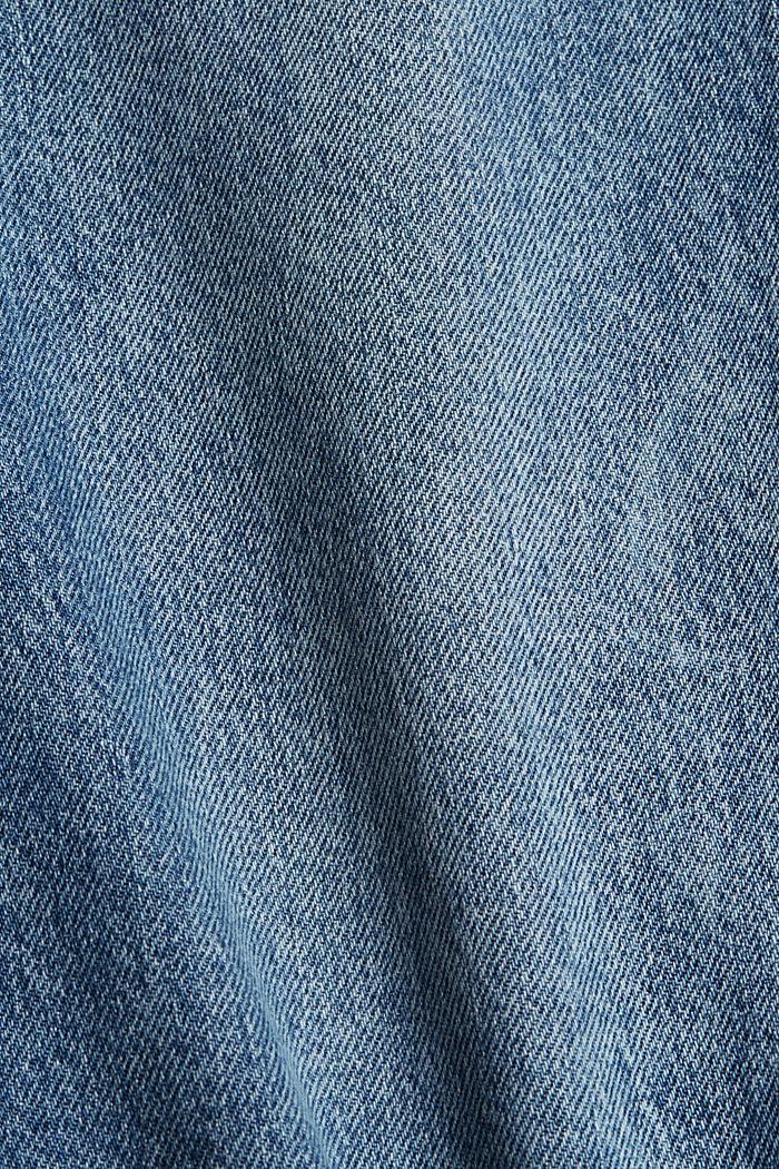 Cropped Jeans aus Organic Cotton, BLUE MEDIUM WASHED, detail image number 4