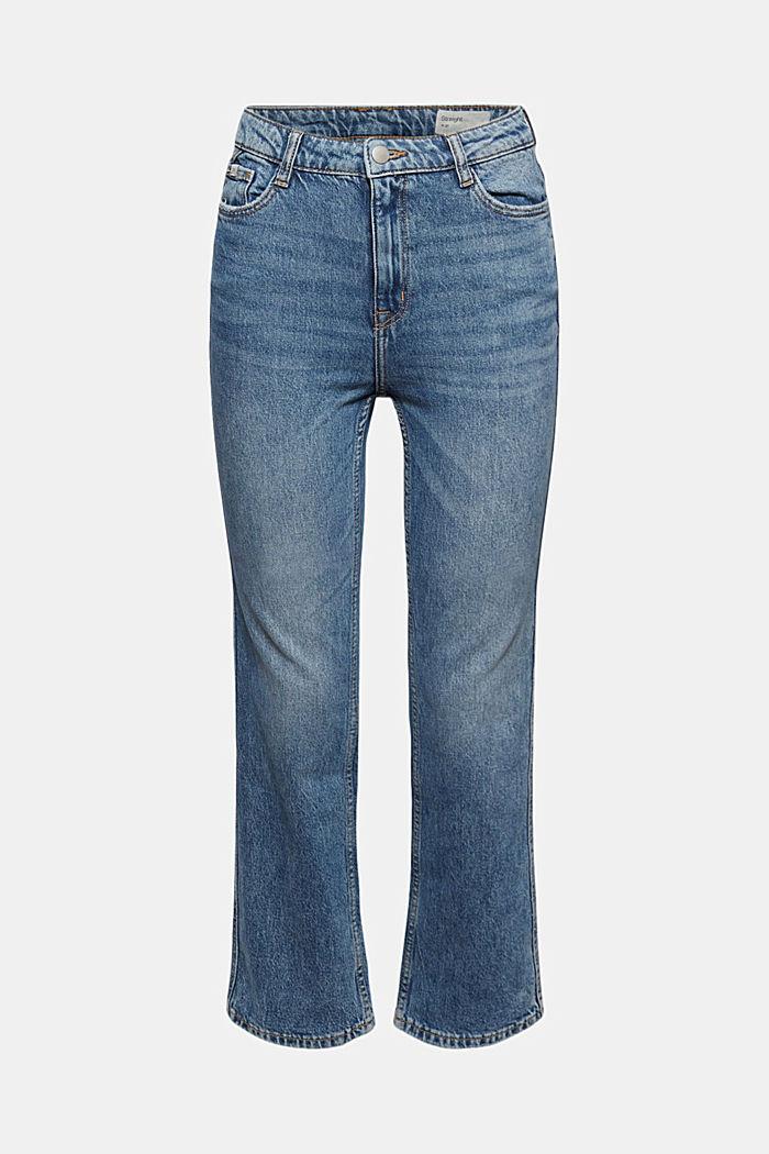 Cropped jeans van biologisch katoen