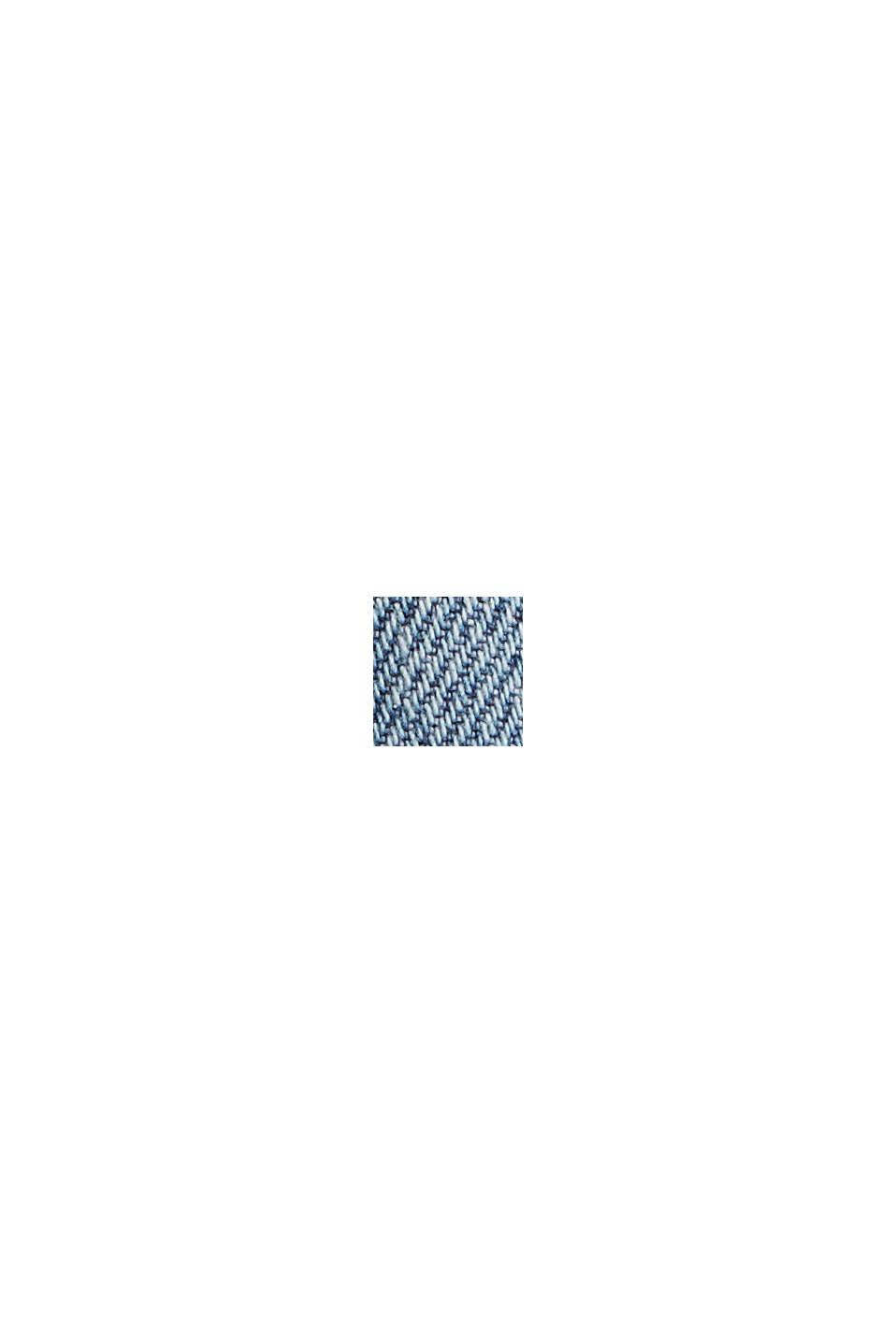 Cropped jeans van biologisch katoen, BLUE MEDIUM WASHED, swatch