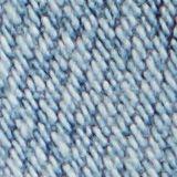 Jean 7/8 à effet destroy en coton bio, BLUE LIGHT WASHED, swatch
