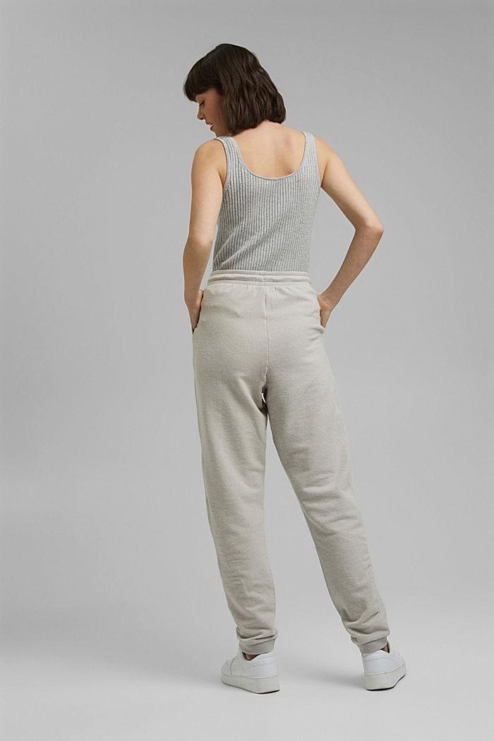 Pantalon de jogging à teneur en coton biologique, LIGHT GREY, detail image number 3