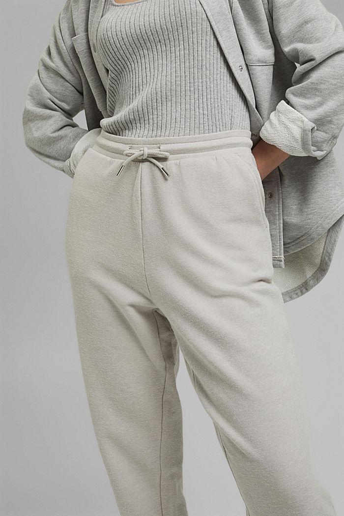 Pantalon de jogging à teneur en coton biologique, LIGHT GREY, detail image number 2