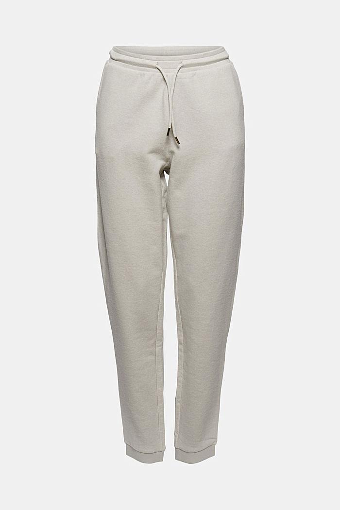 Pantalon de jogging à teneur en coton biologique, LIGHT GREY, detail image number 6