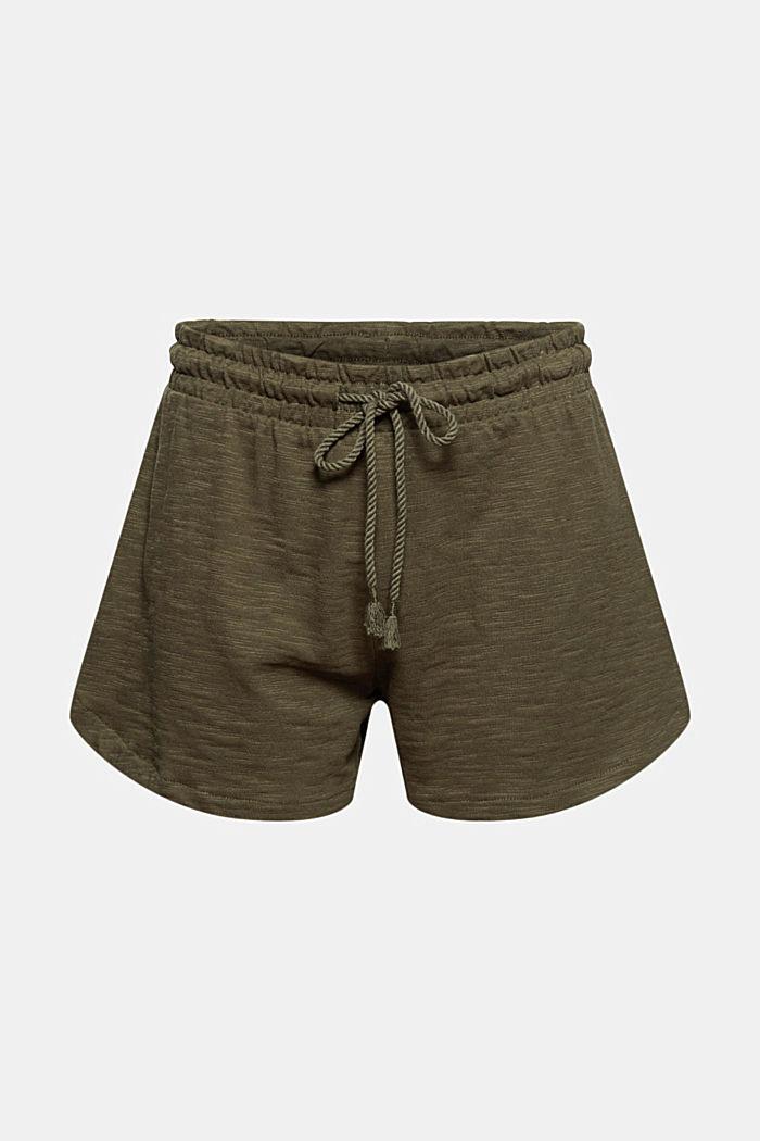Jersey-Shorts aus 100% Bio-Baumwolle