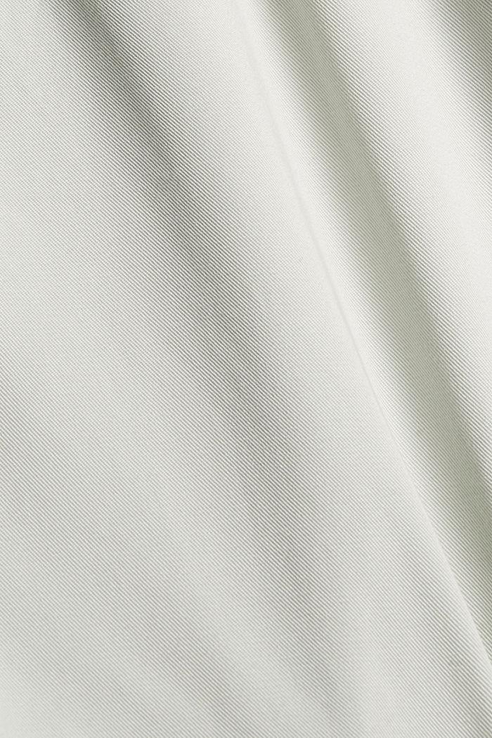 Aus TENCEL™: Shorts mit Kordelzugbund, PASTEL GREEN, detail image number 4