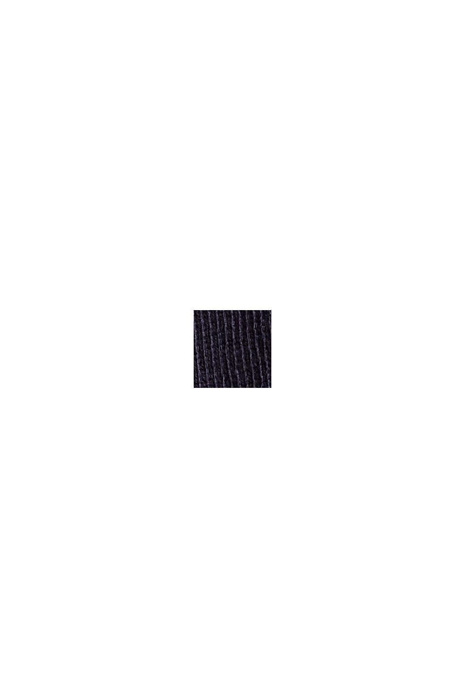 Jerseyshorts aus 100% Bio-Baumwolle, NAVY, swatch