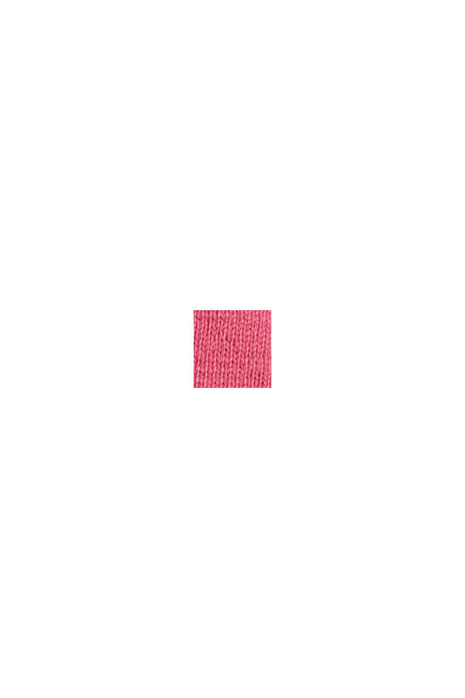 Jerseyshorts aus 100% Bio-Baumwolle, PINK FUCHSIA, swatch